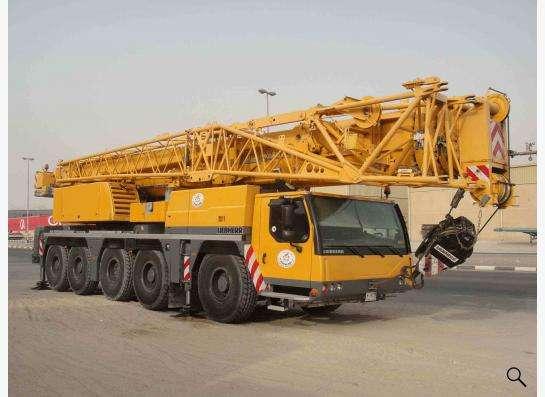 Аренда автокрана 160 тонн 62(105) метра Liebherr LTM 1160