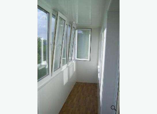 балконы из алюминия