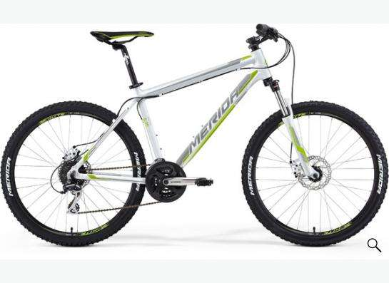 Велосипед  MTB Merida 6.20-MD WHITE (2015)