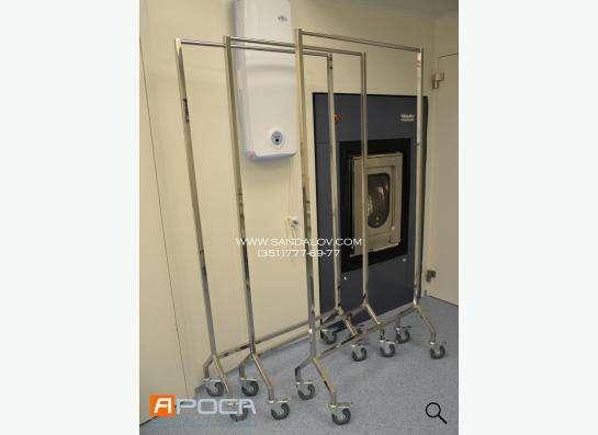 Производство мебели из нержавеющей стали для медицинских и л
