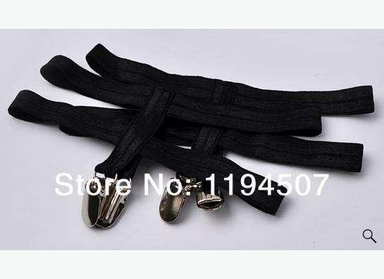 сексуальные подвязки для ног, черного цвета