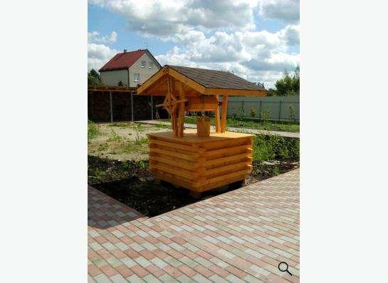 ландшафные изделия из дерева в Калининграде Фото 1