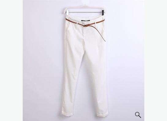 брюки белого цвета, новые